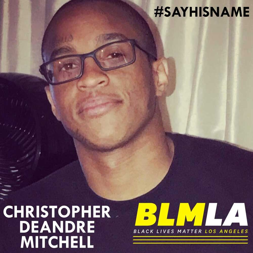 Christopher DeAndre Mitchell #sayhisname