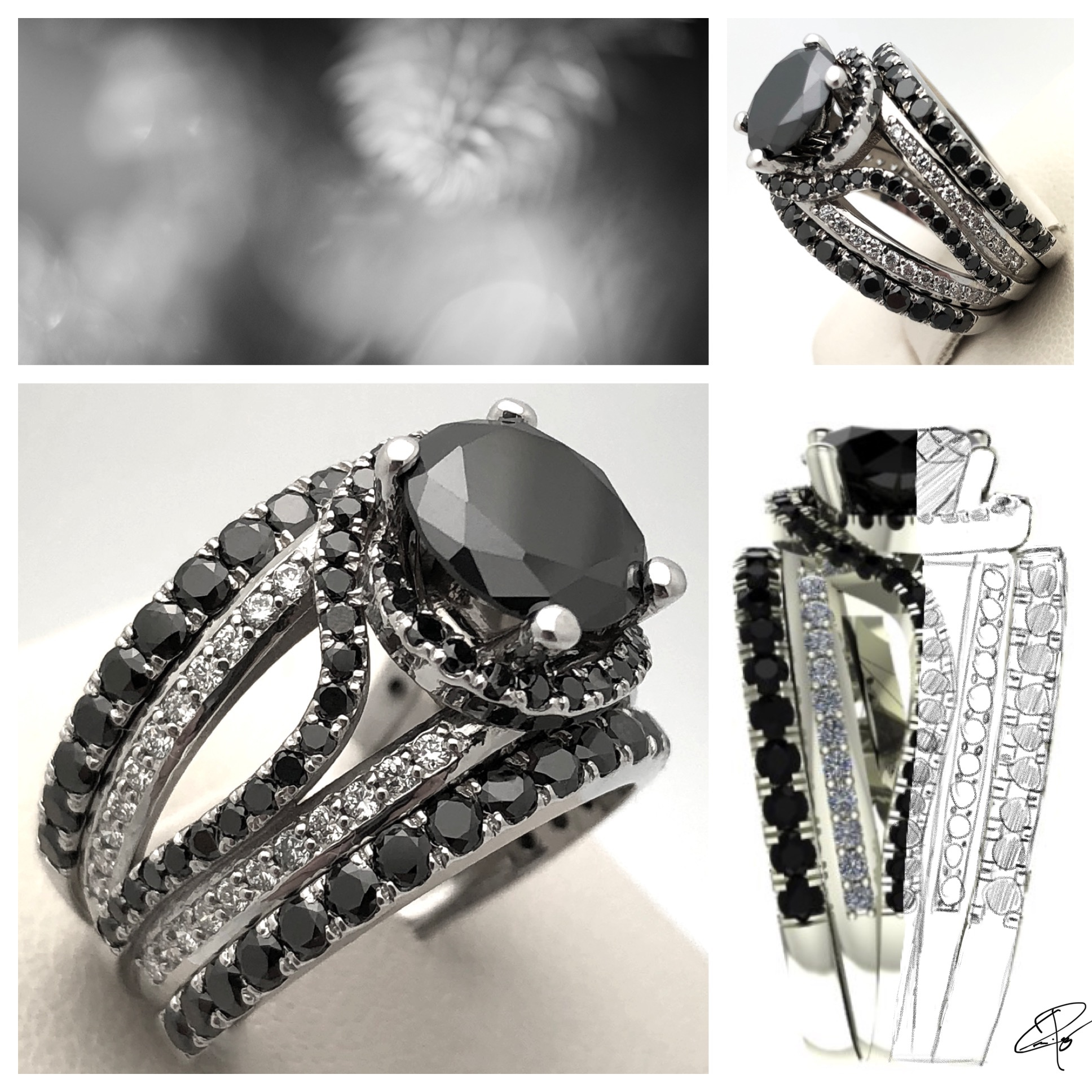 Jewelry design and handcrafting - We provide ideas, CAD drawings and the expert craftsmanship needed to make your next special piece.