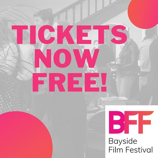 Recently we've made a few new exciting changes at the Bayside Film Festival! 1. Our tickets are FREE! You can register at https://www.baysidefilmfestival.org.au/tickets 2. We're now holding our Awards Night and Family Night at the Shirley Burke Theatre in Parkdale on the 3rd and 4th of October. Our Feature/Drinks Night and Sunday Shorts will still be held at @sonderbentleigh , who are super excited to have you guys for the 5th and 6th of October. Make sure you stay tuned for our awesome lineup coming really soon!!! #baysidefilmfestival