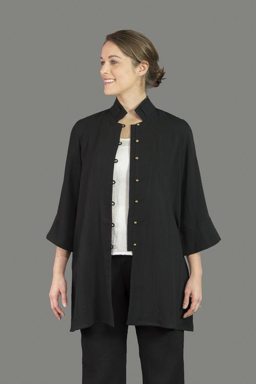 AA11 - Double Collar Mandarin Jacket