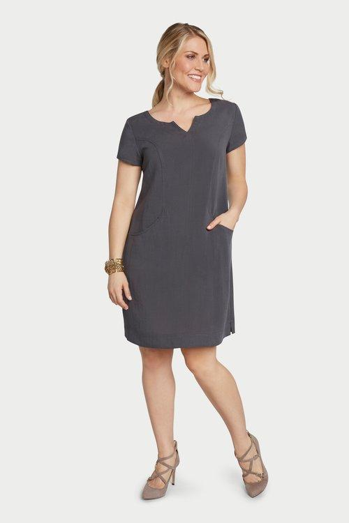 AAD260 - V-Neck Dress