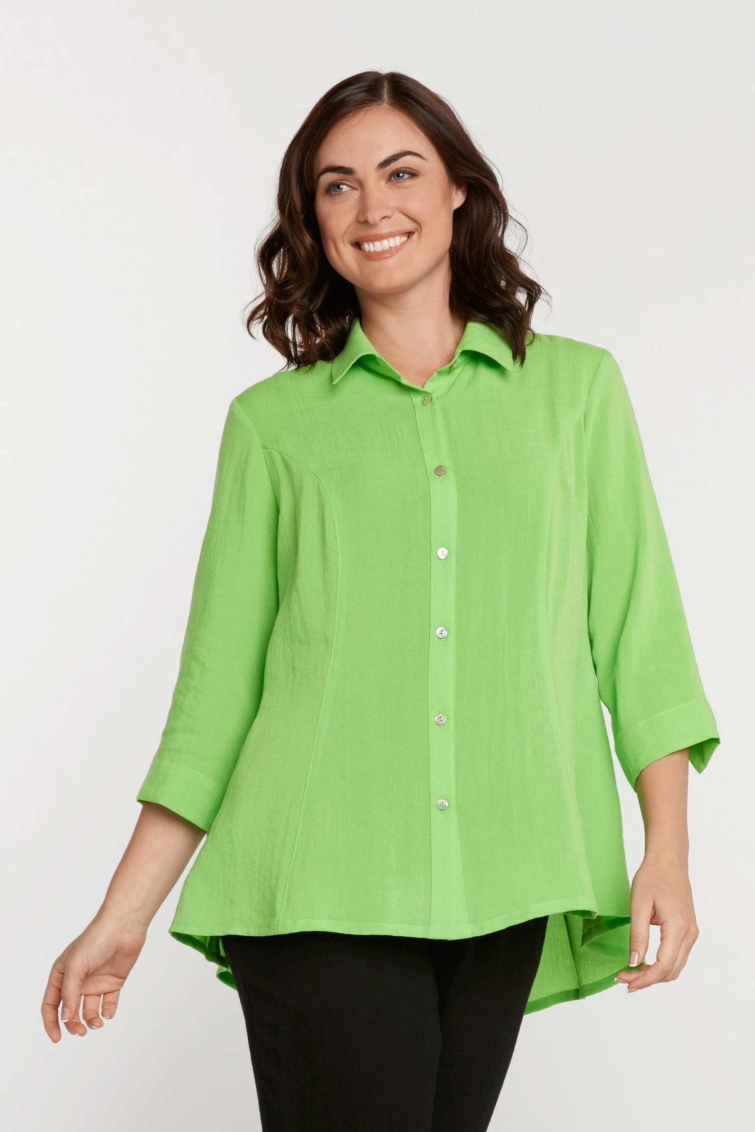 AA224 - Veronica Button-Up Blouse