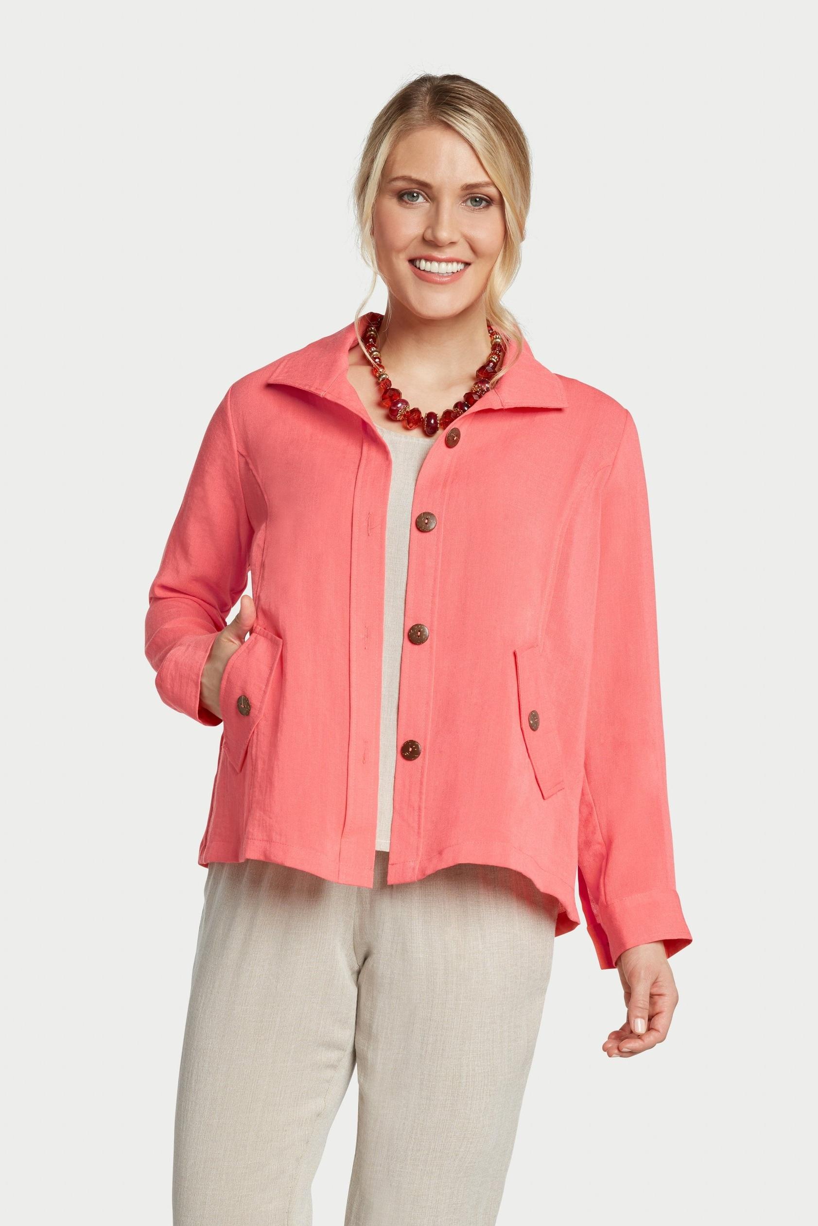 AA242 - Florence False-Flap Pocket Jacket