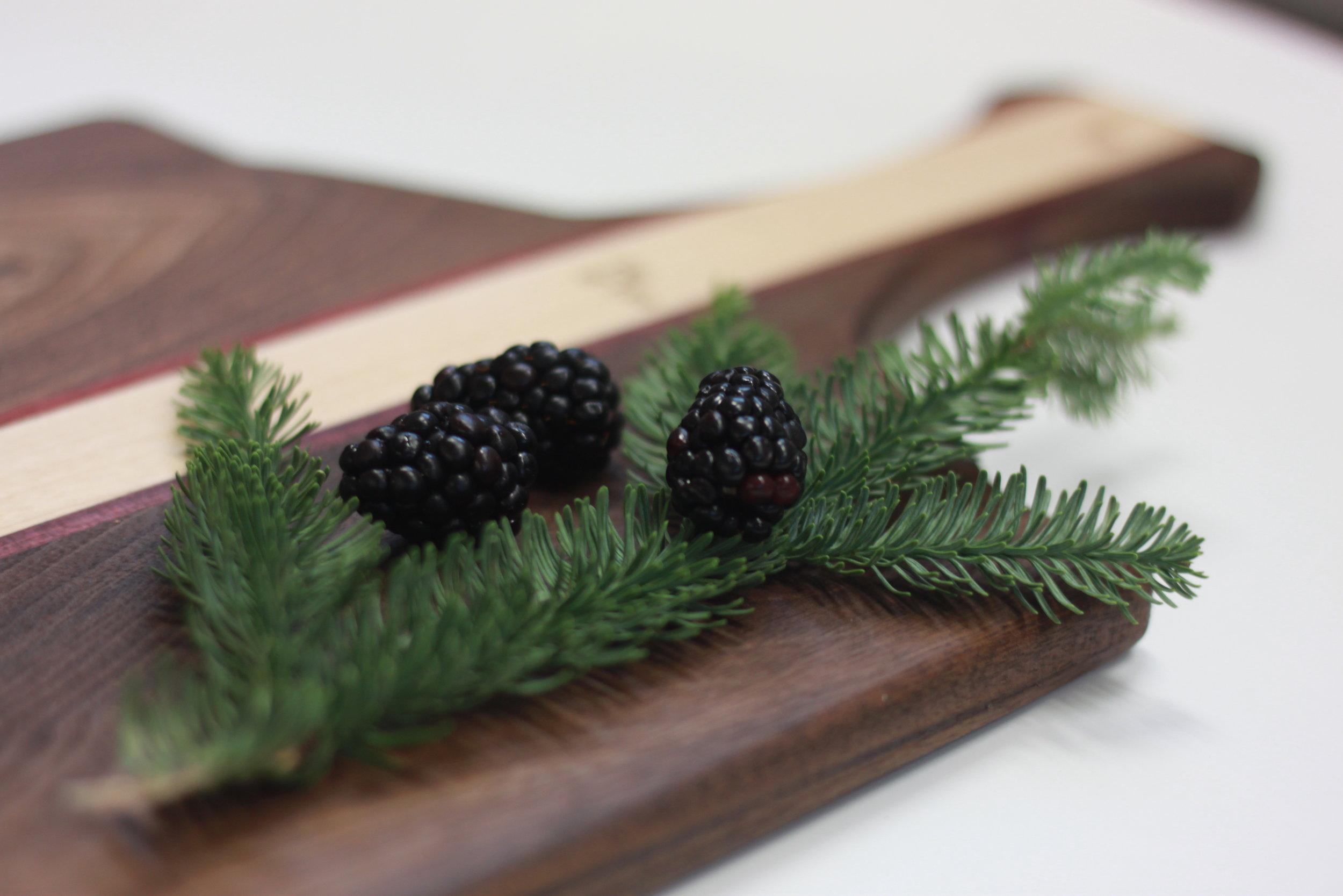 Walnut & Cherry Cutting Board