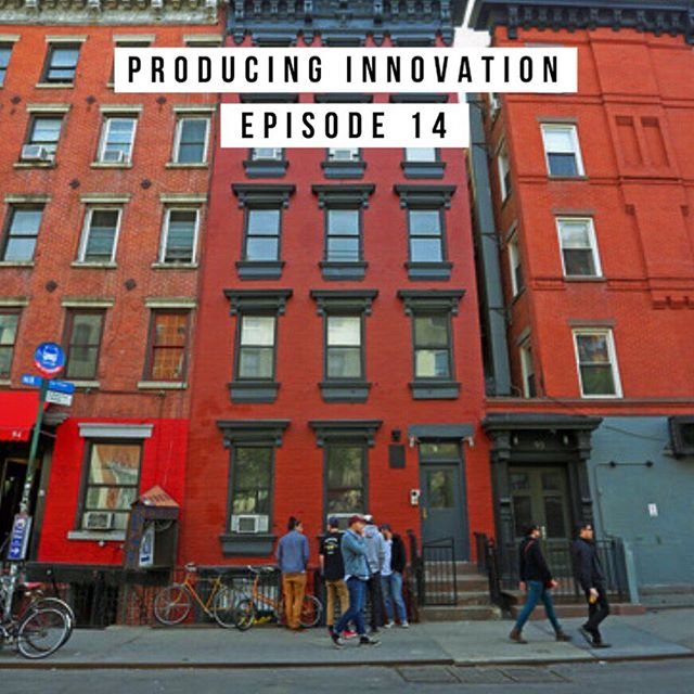 We had a little trouble with Buzzsprout this weekend, but here it is. Live this week: Episode 14 of #ProducingInnovation! This week we got to talk to GAle GAtes cofounder Michelle Stern about 92 St. Marks. Link in bio!