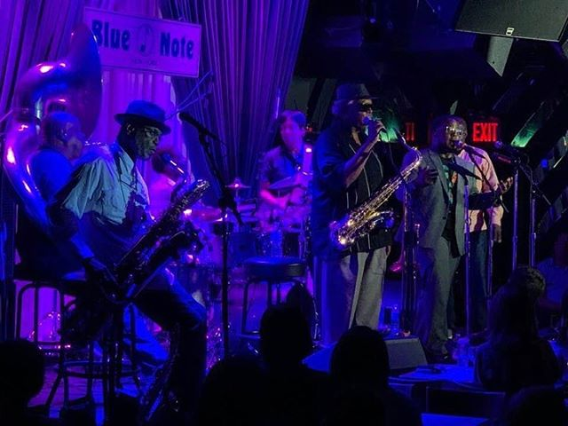 Shoutout to @hoodoo_berlin & @tj_norris - you absolutely must catch @dirtydozenbrassband at the Blue Note this week. TJ is a force to be reckoned with and you haven't seen the last of him. Thanks for having us!