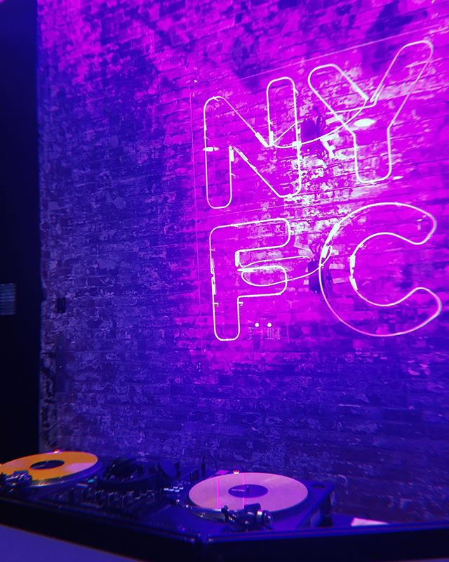Prepping for the @nyfc Fall Fete last year