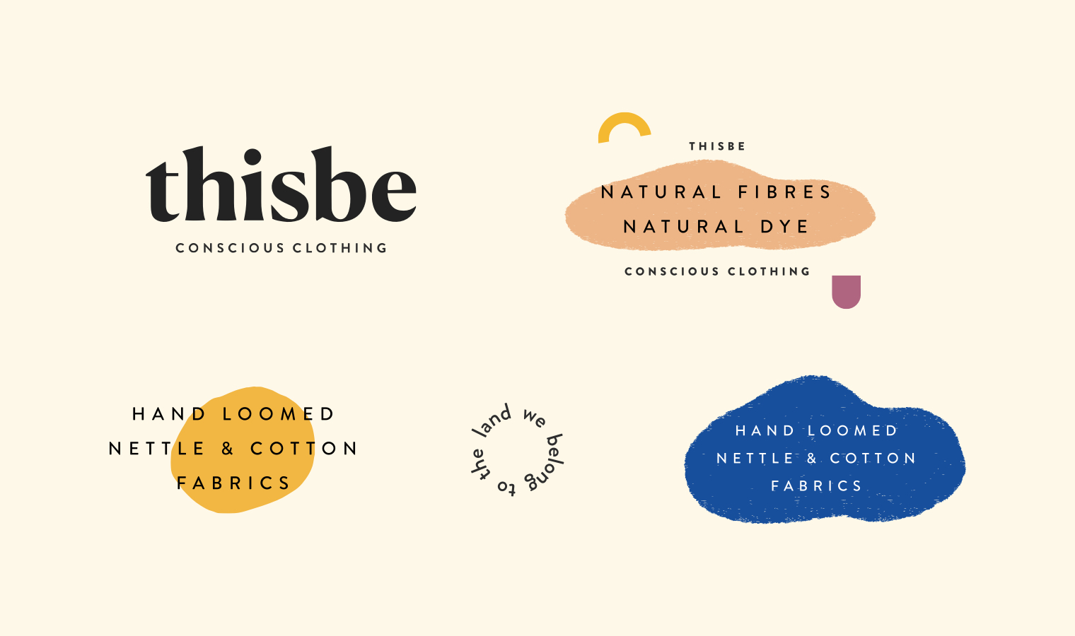 Colourful pastel logo design and branding for conscious slow fashion brand thisbe | Betsy & Francis | Ethical Design Agency.jpg