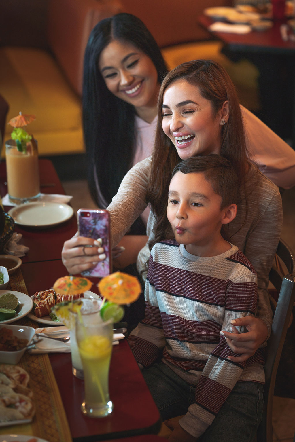 a place for family - Being a family-owned restaurant, we always put family first. and at Los Reyes, you are family.