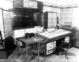 Uno studio di Radio Praga negli anni '60.