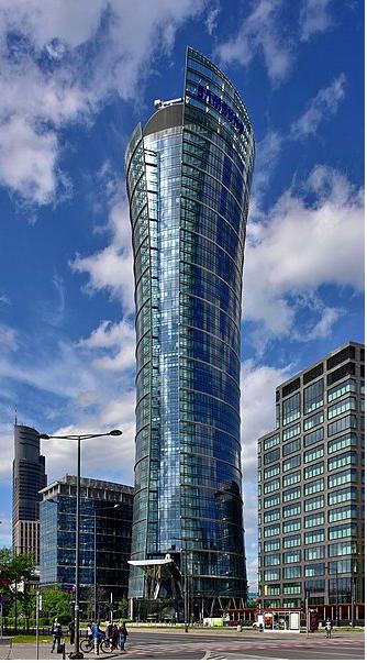 La torre del Warsaw Spire (Wikimedia commons)