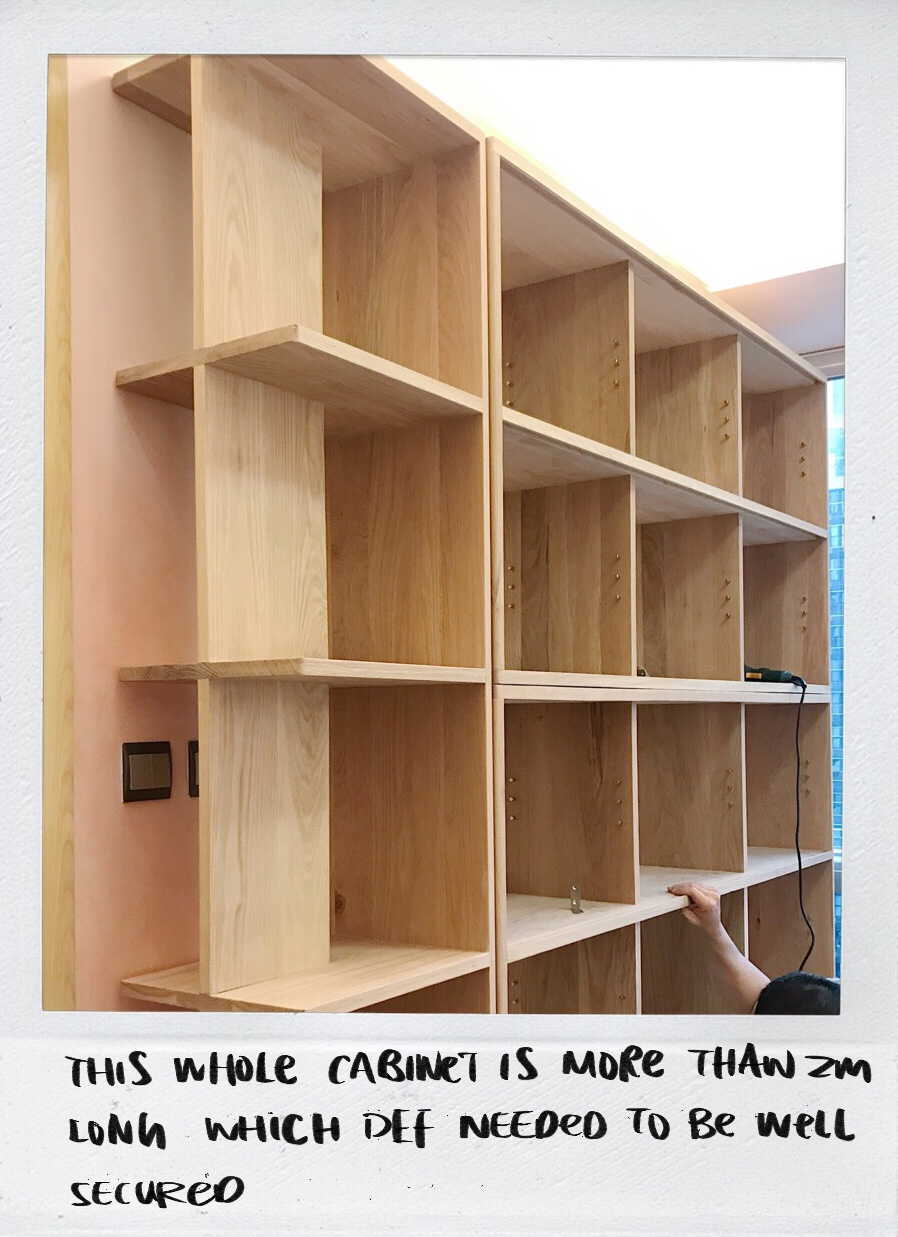 Modular Semi-Open Wall Tall Cabinet