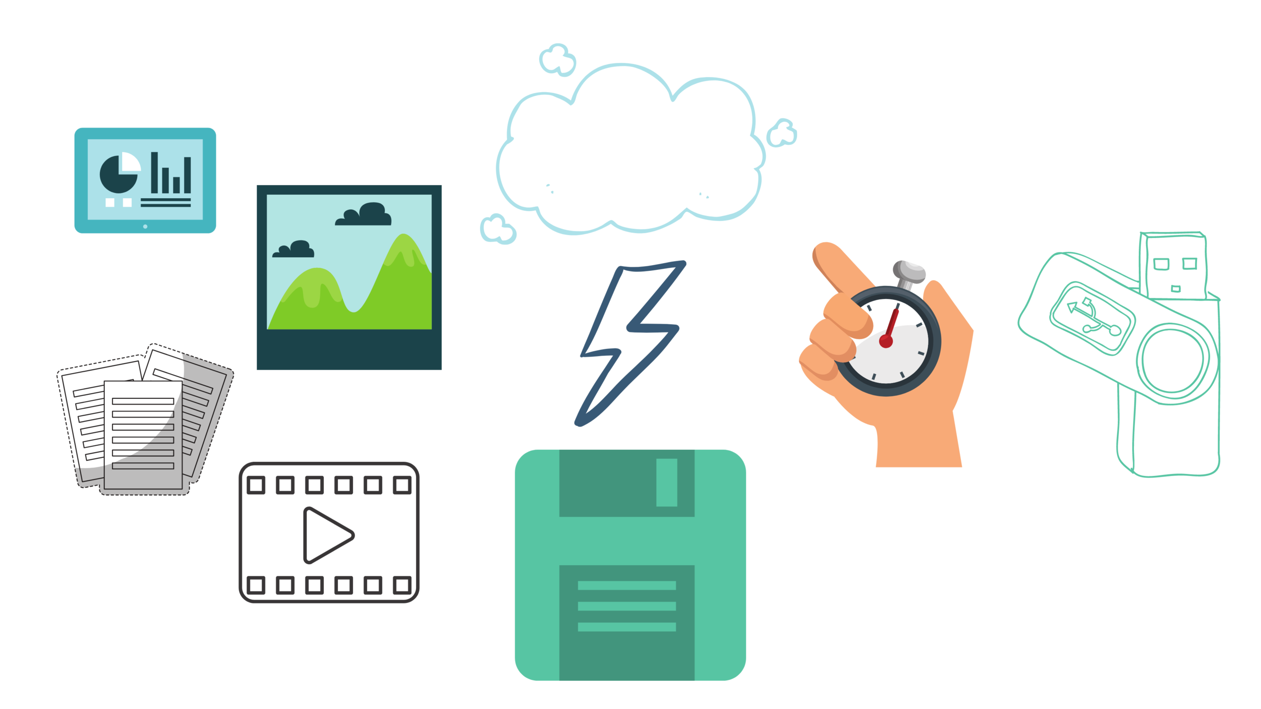 Store & Share - Store and share data to the cloud faster than you can save it to a flash drive. Access anything everywhere.