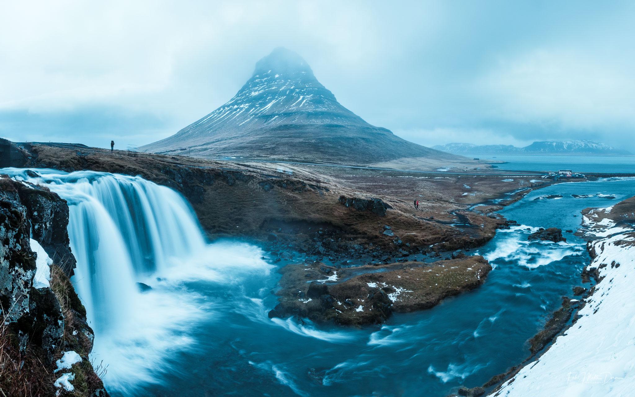 Eine Bergikone und ein Foto-Klassiker: Kirkjufell