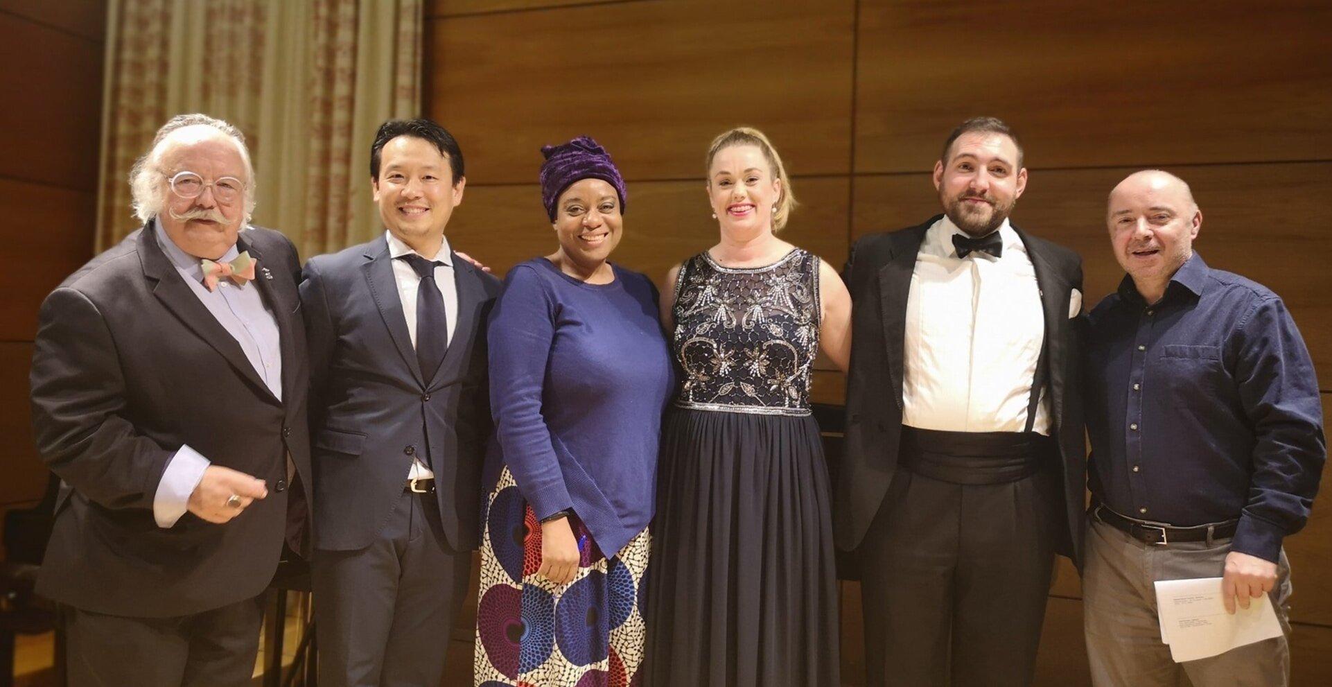 The Judges and Prizewinners: The 2019 Fulham Opera Robert Presley Memorial Verdi Prize