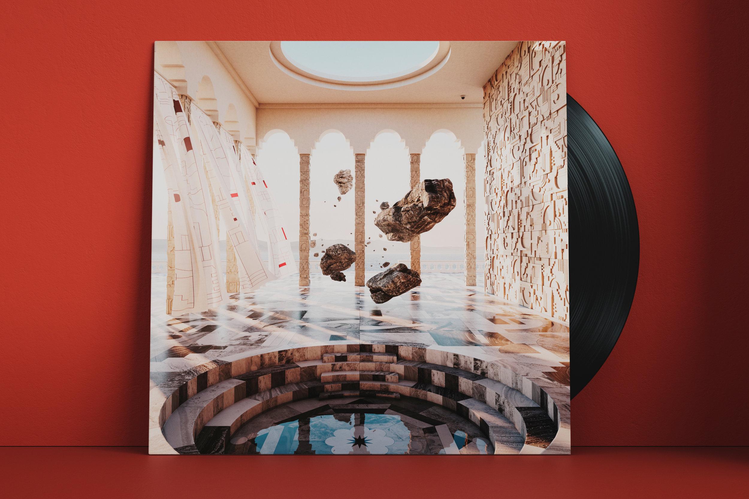 Artwork for Altid Sammen by Hvass&Hannibal & SeenCGI. Pre-order the album  here .