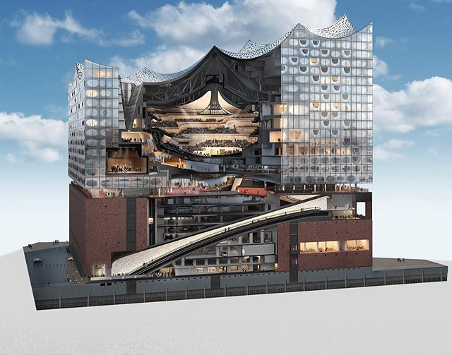 On Saturday 22:30 CET we will premiere our new album live inside this incredible building! You can live- stream it via Facebook.com/efterklang. 'Altid Sammen' is released this Friday on @4ad ❤️. Live premiere takes place in the @elbphilharmonie for @reeperbahn_festival 👍 #efterklang #altidsammen