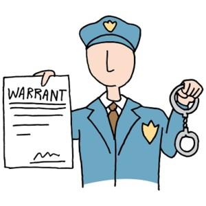 warrant for arrest