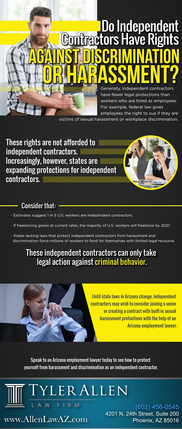 Do Independent Contractors Have Rights Against Discrimination or Harassment