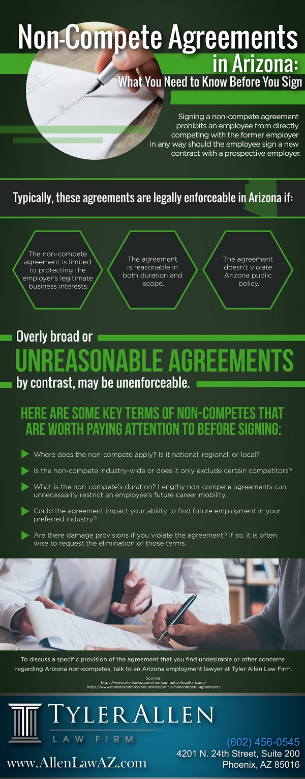 Non-Compete Agreements in Arizona What You Need to Know Before You Sign