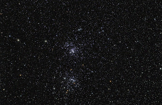 The Double Cluster is an easy and pretty target..