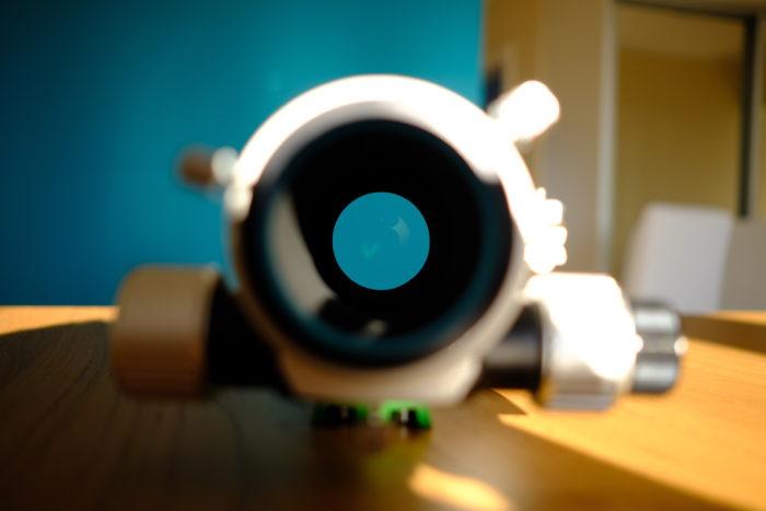 SkyWatcher Evostar 72ED optics