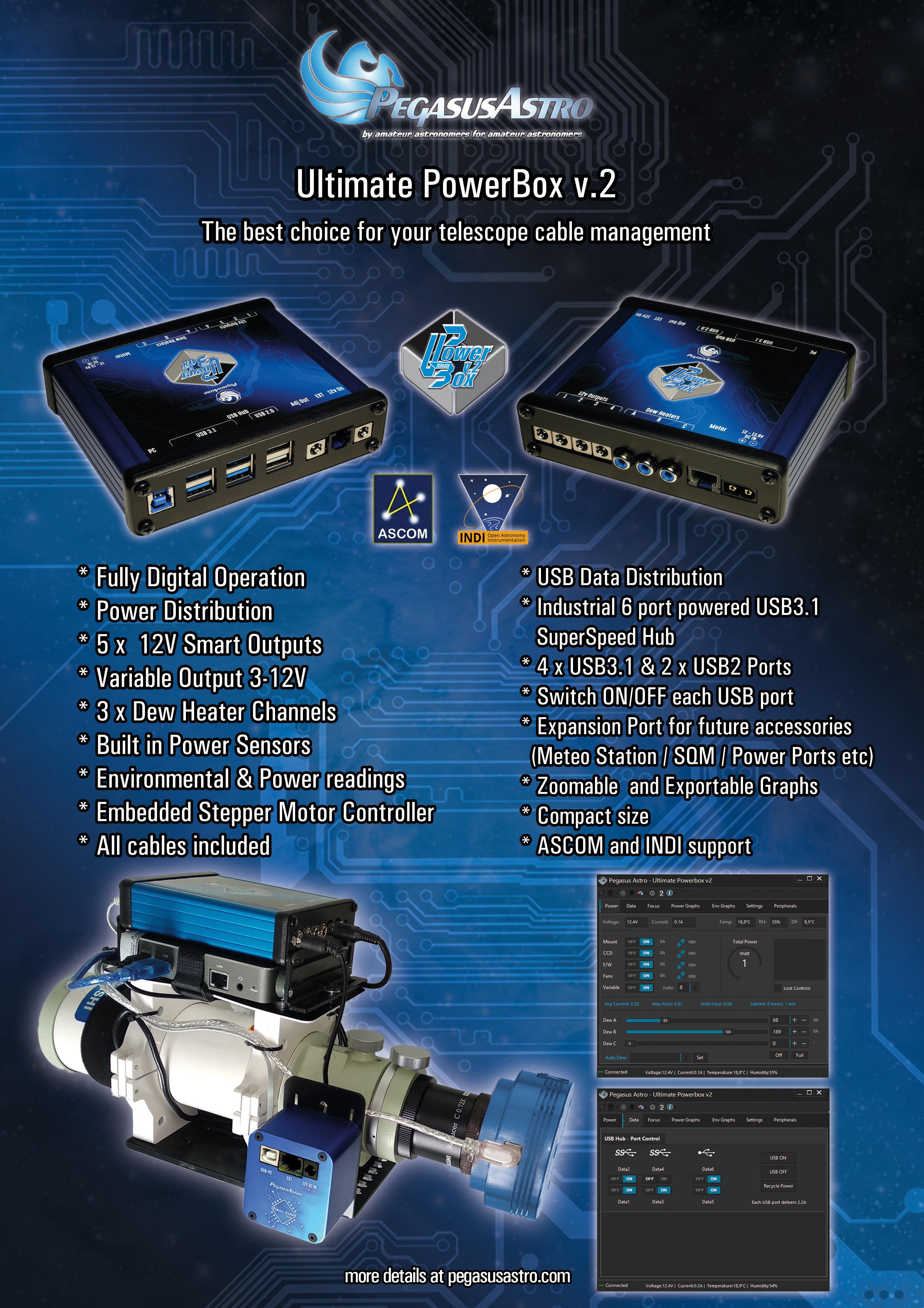 Ultimate Powerbox v2 Pegasus