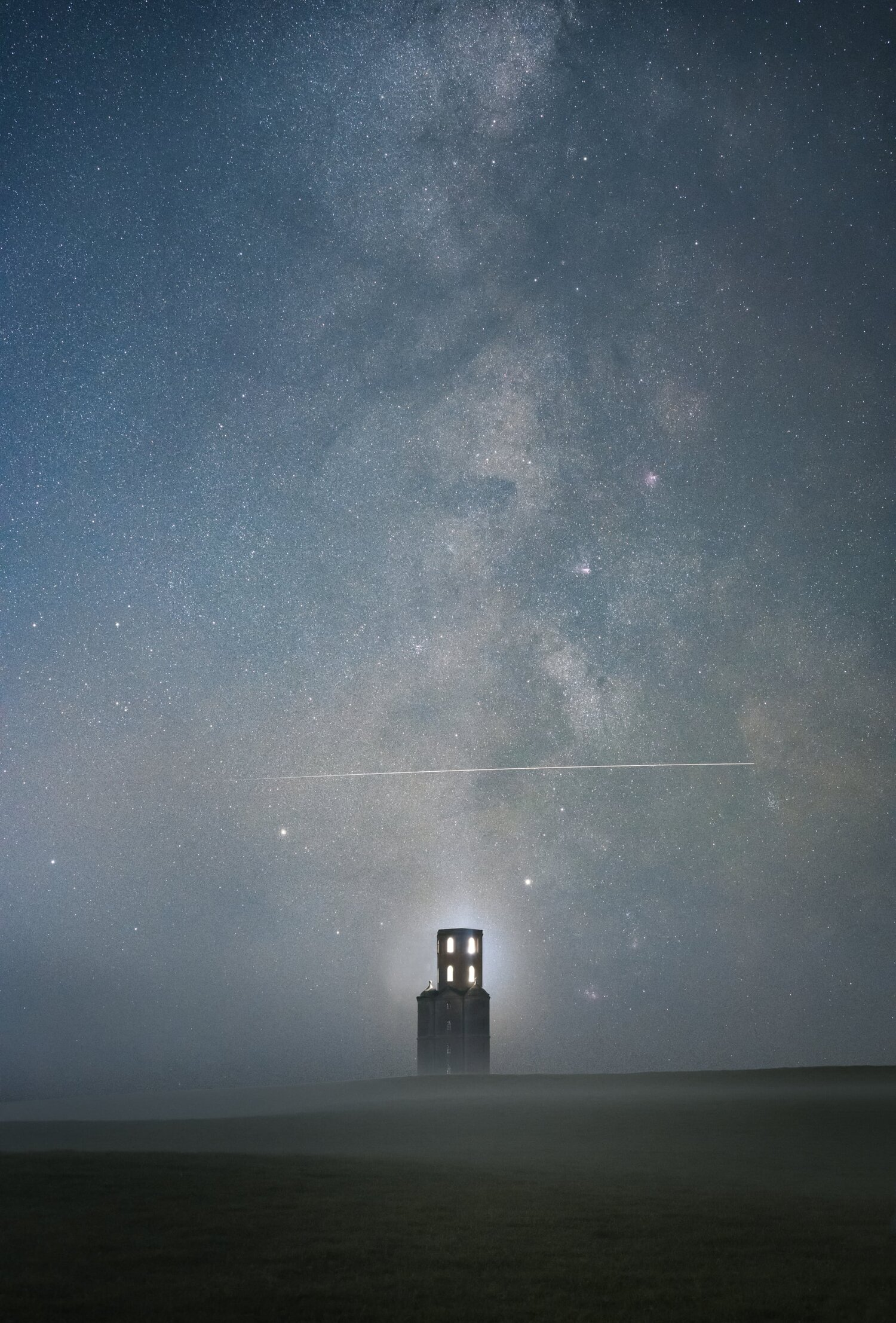 Above the Tower, by Sam King  Highly Commended: People and Space