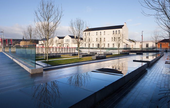 Ebrington Square Today