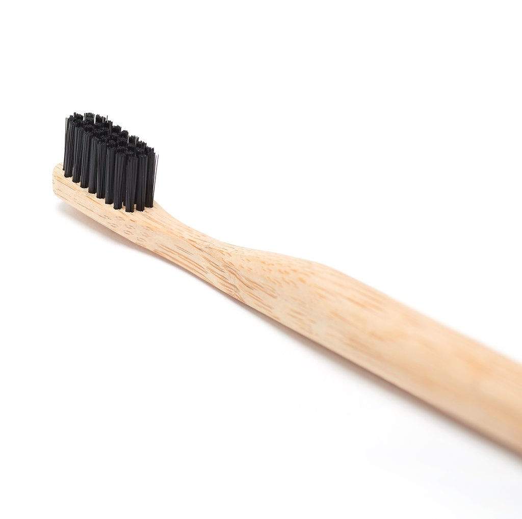 bamboo tooth brush - Most tooth brushes are made completely out of plastic, and our dentist tell us to change the brush every month. So you see the problem?All of this waste is created by toothbrushes alone! Why not change them to tooth brushes made of bamboo. They're compostable.