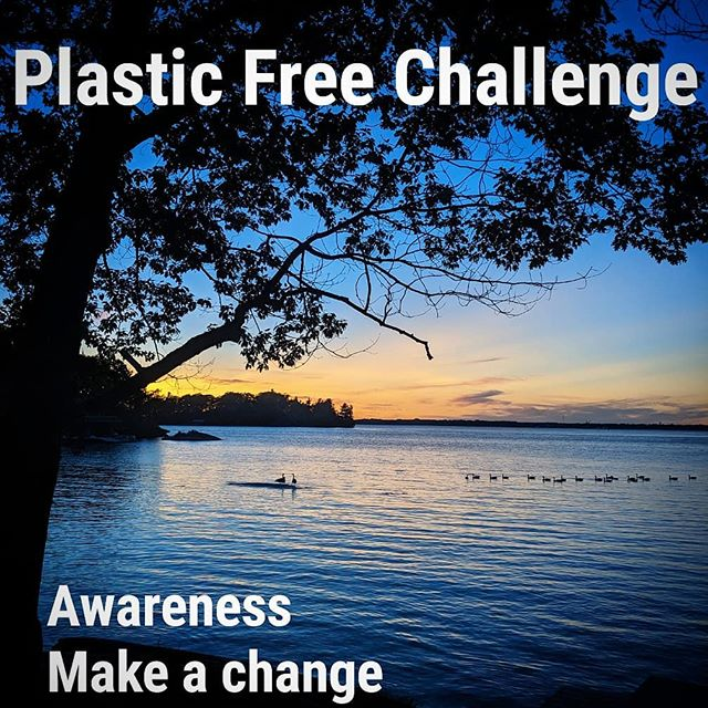 Join us for a plastic free Challenge!  Identify at least 1 single use plastic item that you use daily and find a solution. Share your results and inspire others! #bethechange  #plasticfreechallenge #plasticfree #plasticchallenge