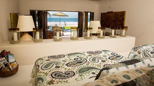 Habitaciones   6 habitaciones, 2 suites con vista al mar, 4 bungalows en un magnifico jardin