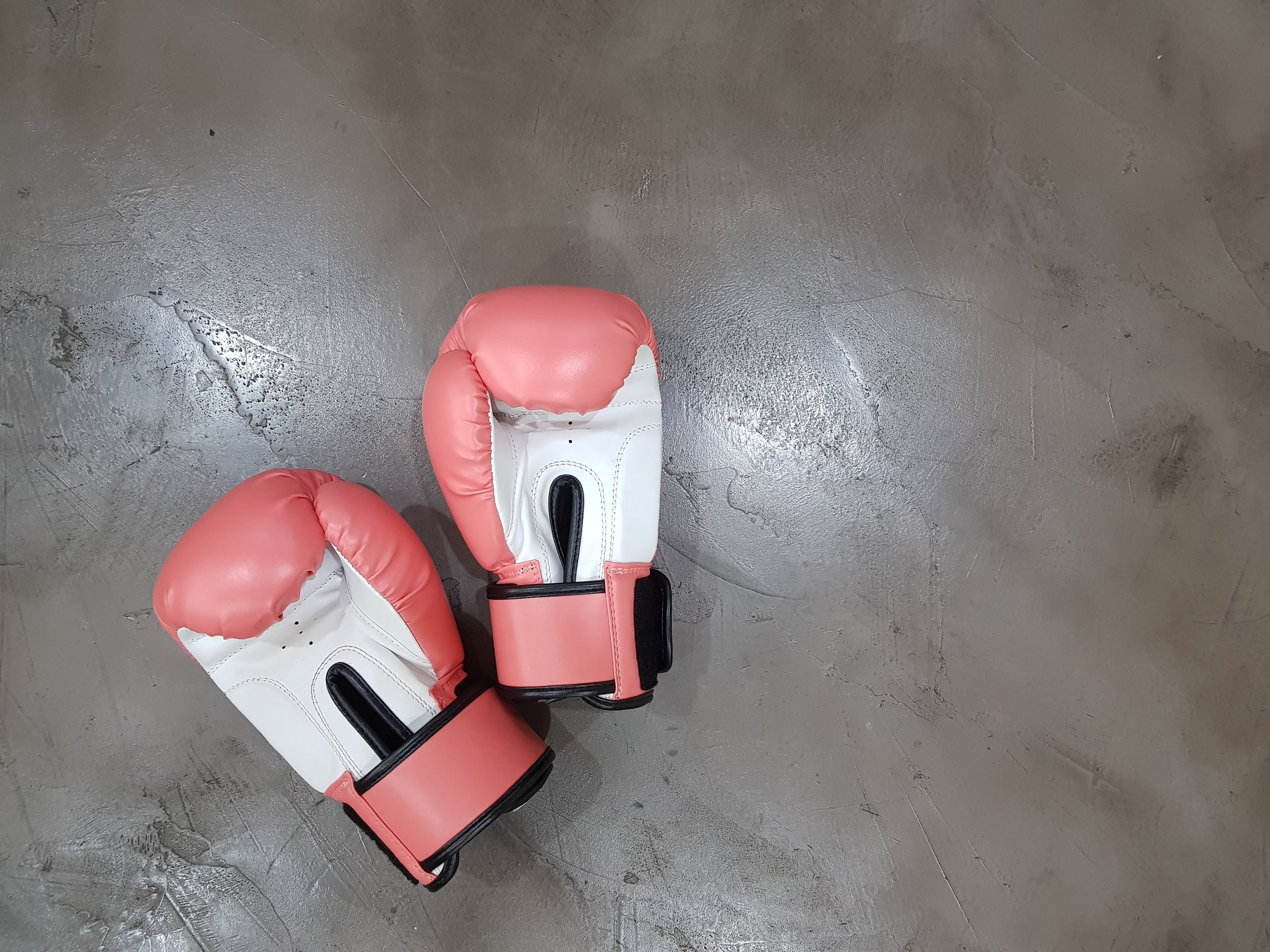 A pair of boxing gloves represents friends that fight for you.