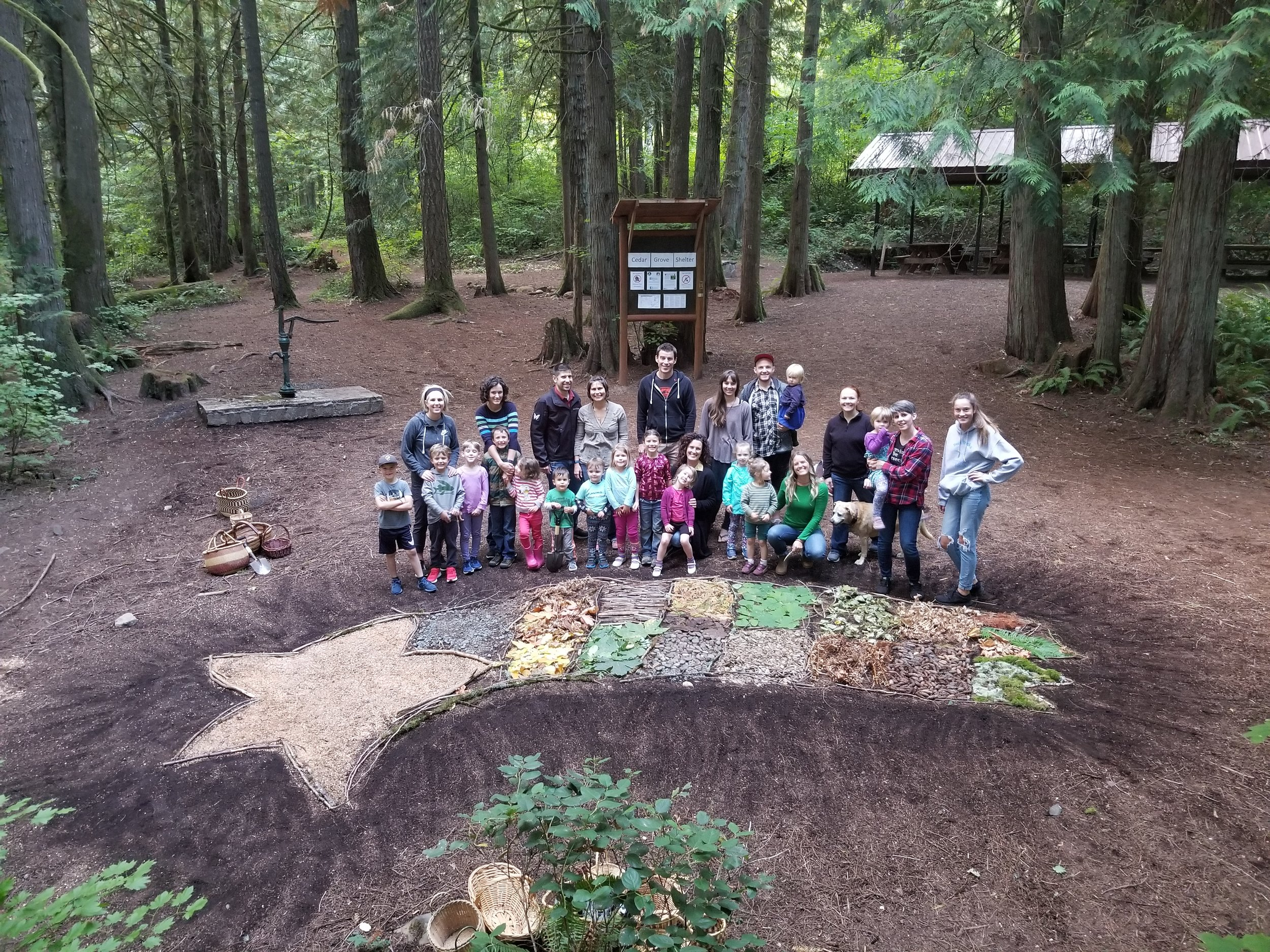 Family Forest Art Project