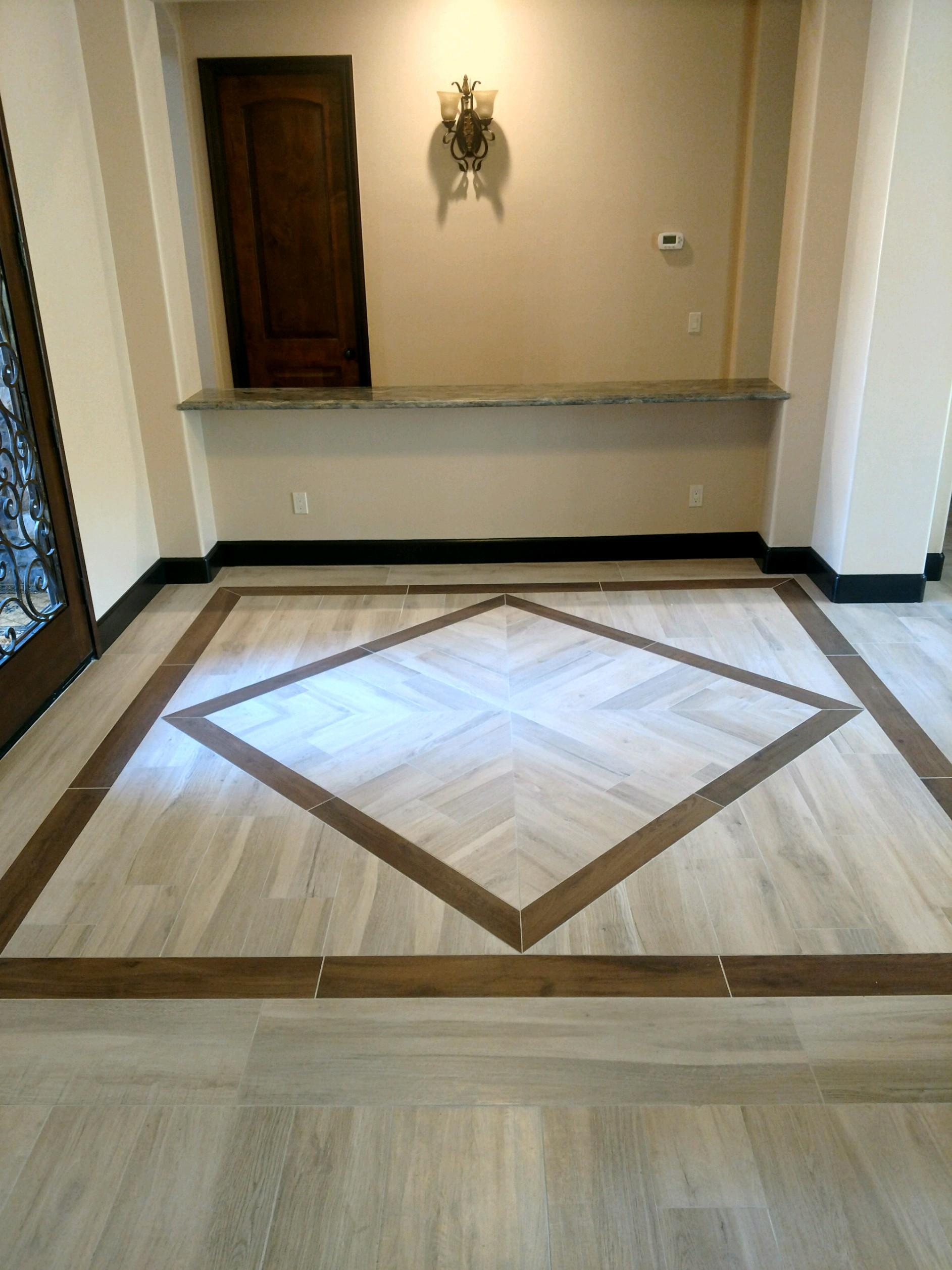 flooring design entryway porcelain plank