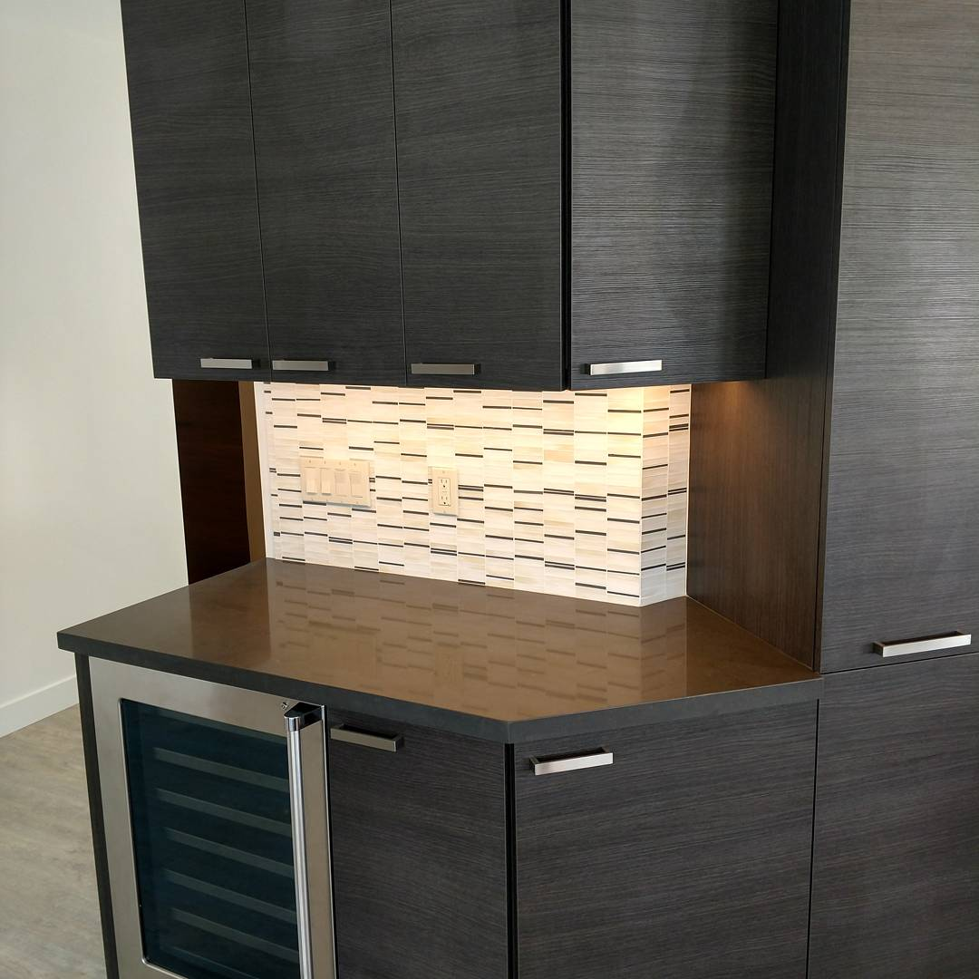 thin glass tile mosaic tile kitchen backsplash