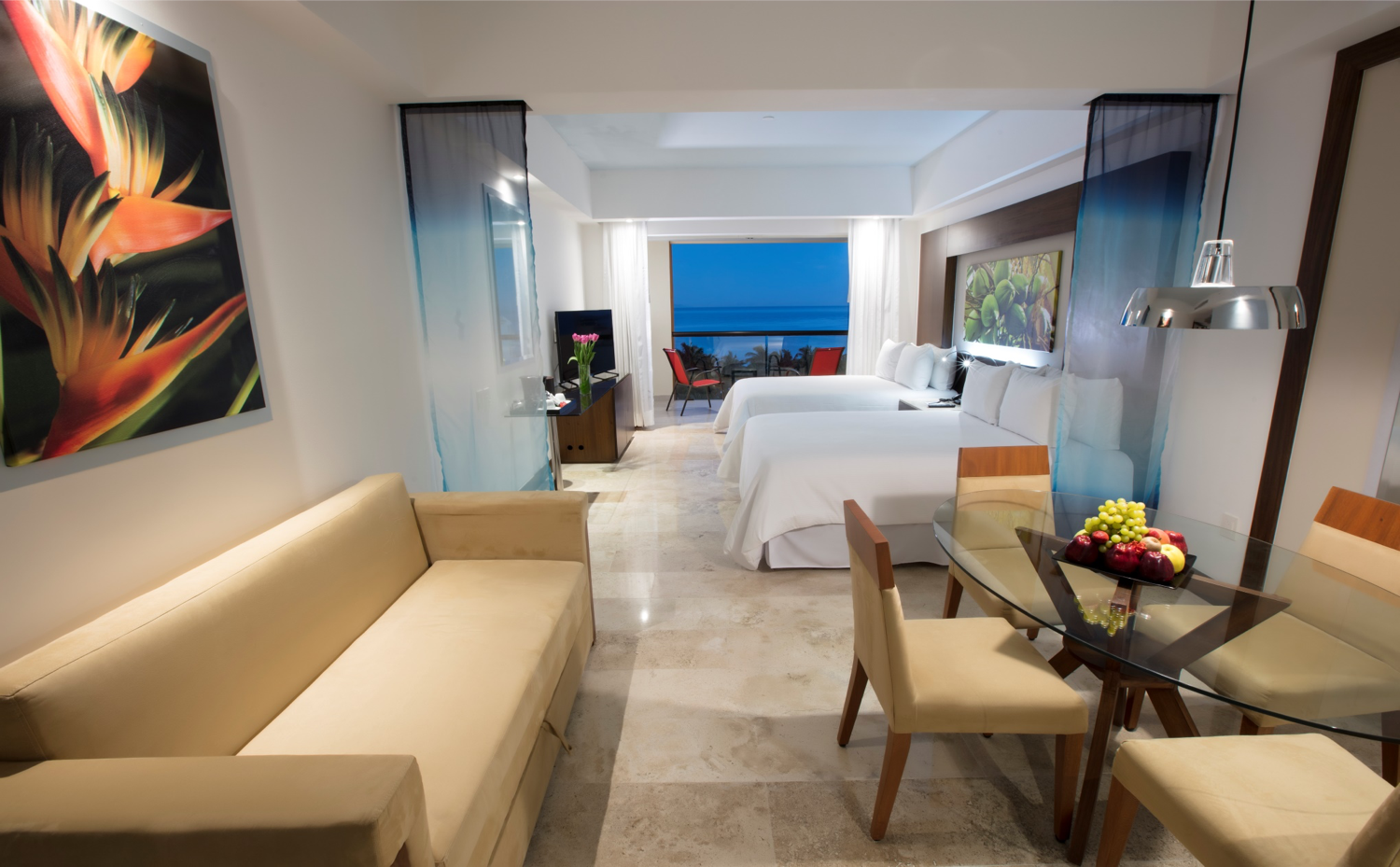 You pay one flat rate - What's Included: $2,000+ Value Junior Suite Ocean View Room w/ Balcony, Taxes, Fees, Gratuities, Meals, Drinks, Welcome & Bon Voyage Reception, Round Trip Transfers, 2 Tours & WiFi.