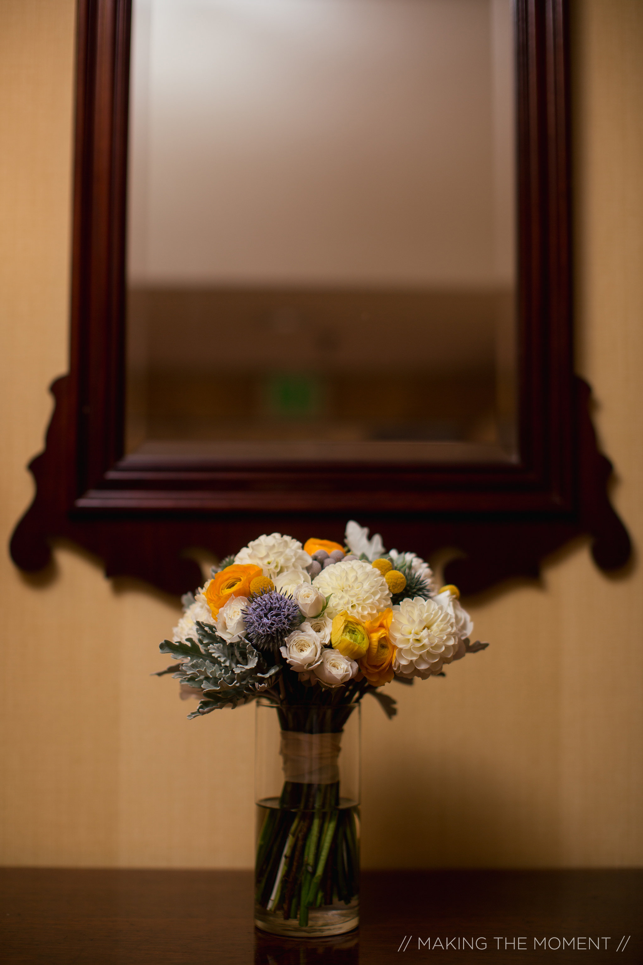 Fall wedding bouquet by Branch and Bloom Ohio