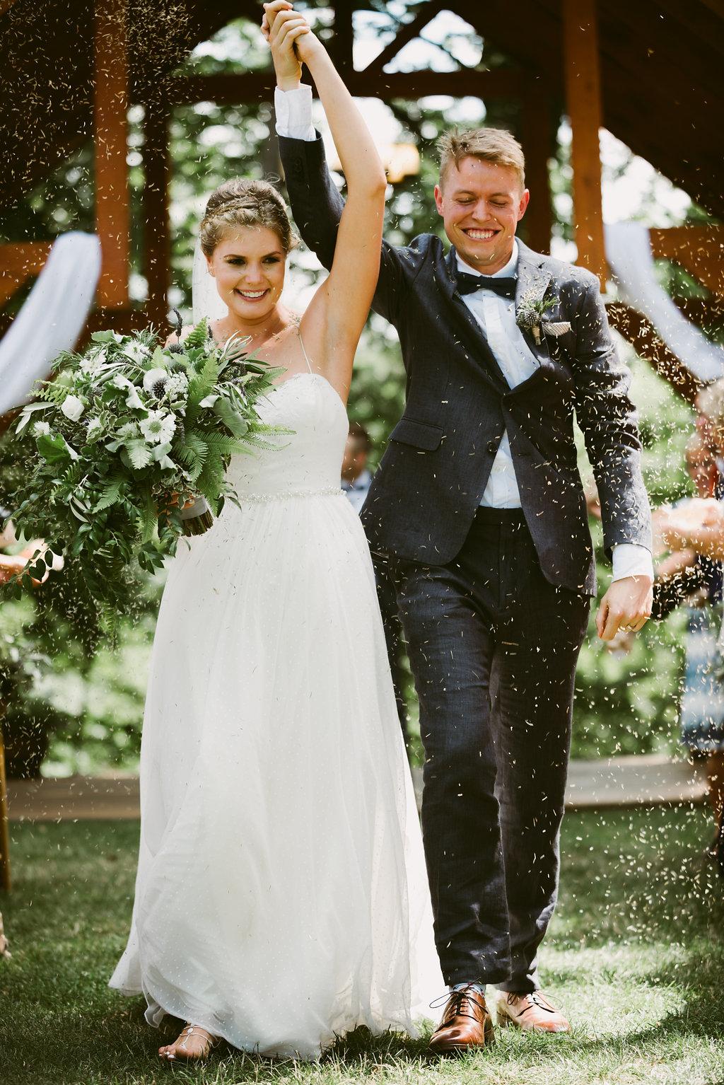 Meadow Ridge Farm Wedding ceremony