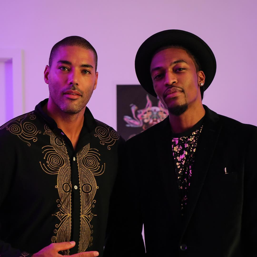 """Launch of """"Elevate"""" by Manzel Bowman for Art Basel"""