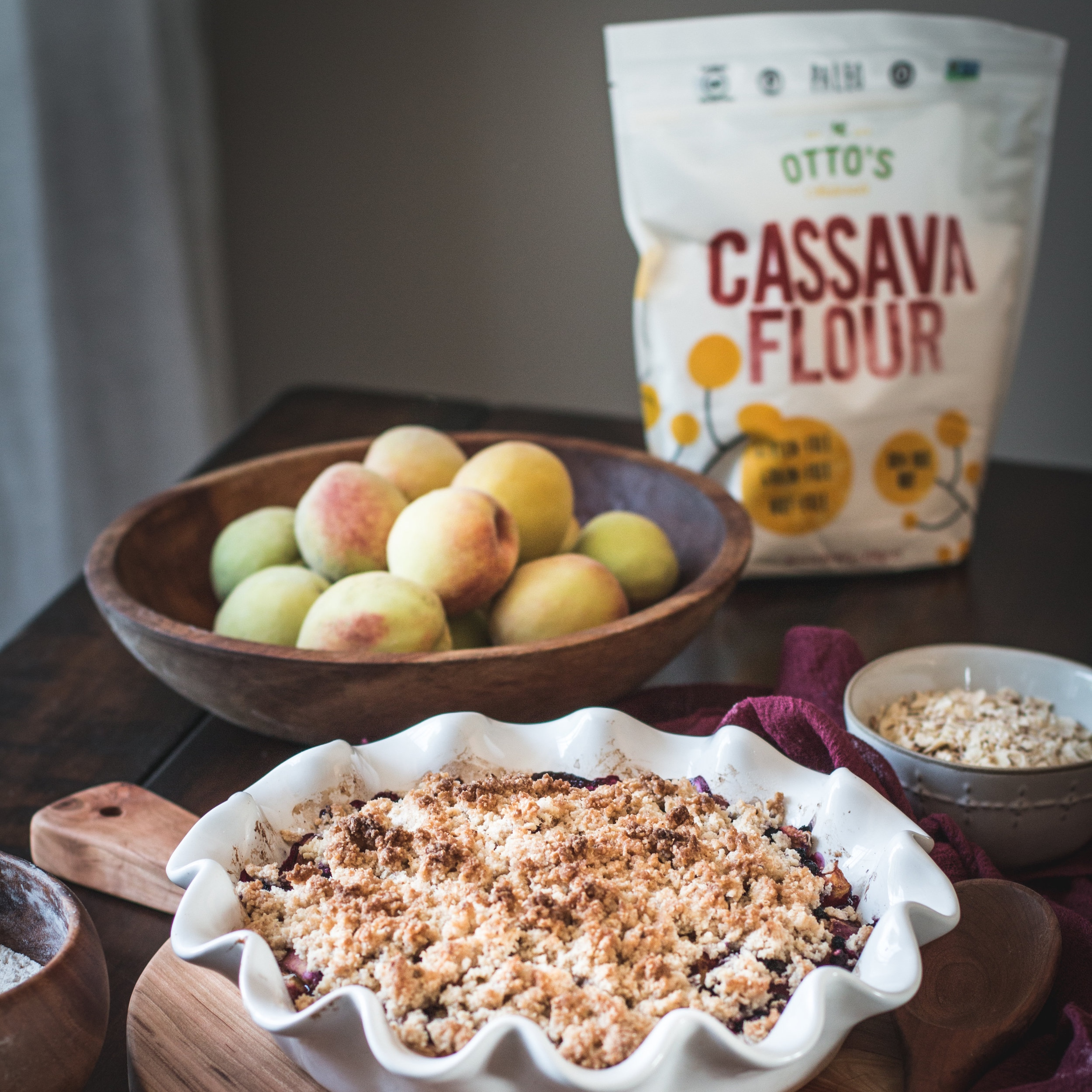"""Otto's Cassava Flour - My absolute favorite gluten-free, grain-free flour suitable for paleo and autoimmune protocol diets. Use code """"RESTORATIVEKITCHEN10"""" for 10% off your order!"""