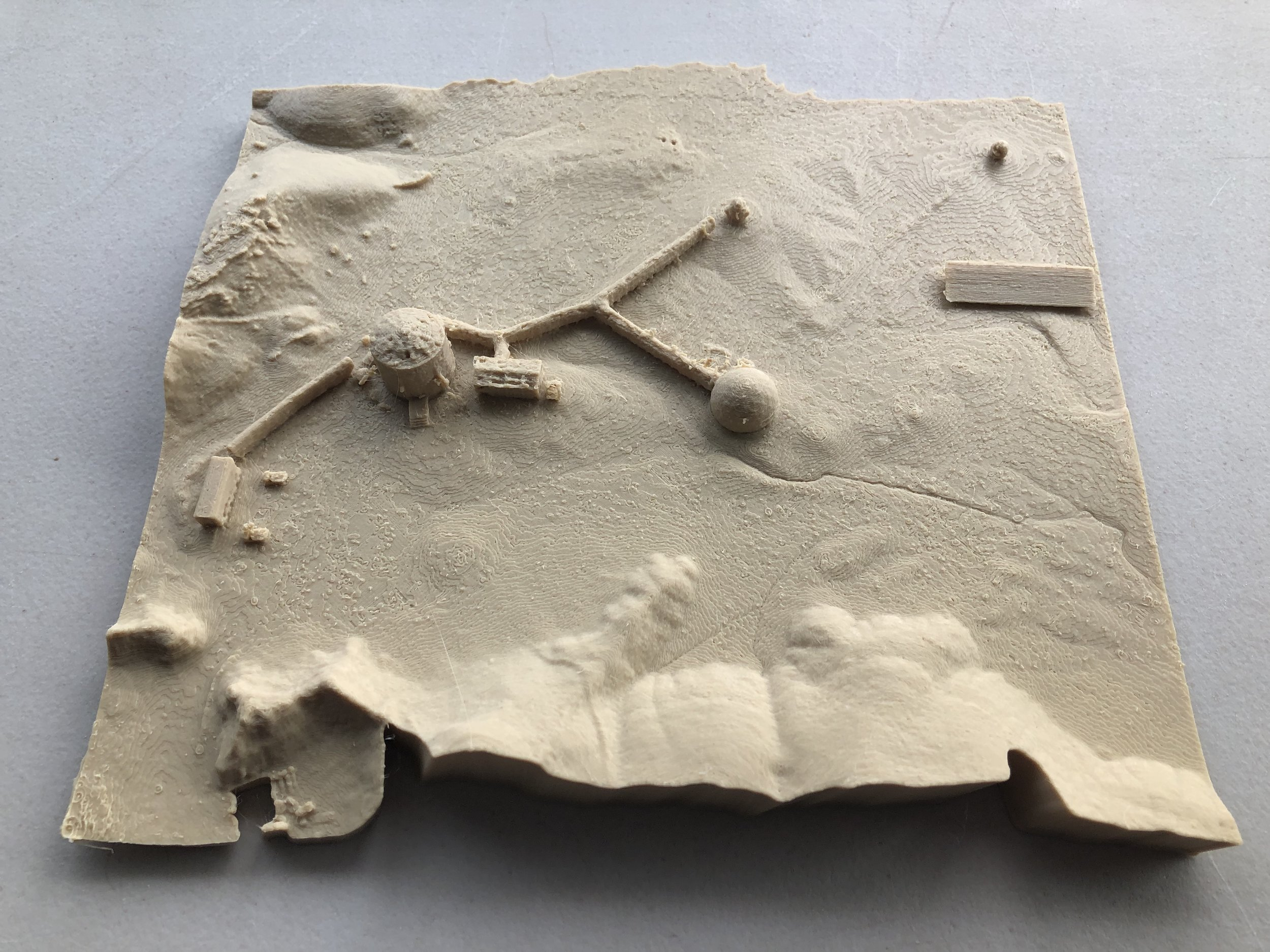 3D Printed Map of MDRS from Drone Imaging.jpg