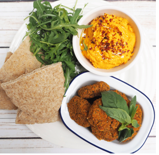 Sweet Potato, Turmeric & Butter Bean Houmous