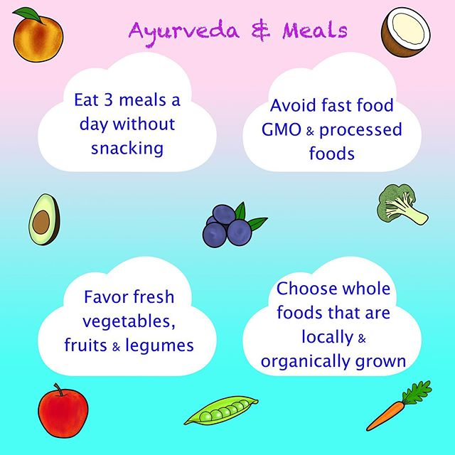 Something awesome about the philosophy of Ayurveda and eating is that the digestive fire mirrors the heat of the sun as it gains heat then cools down in the course of a day☀️ Breakfast should be early, as the fire has yet reached its peak, substantial enough to get you through to lunchtime. After Noon the sun reaches its peak making it ideal for the largest amount of food, here is where complex foods like fats & proteins are best digested. This should be the largest meal of the day.🍛🍲🥙Supper should contain a light supplement of food intake at the time when digestive system is slowing down for the day🥗🍜 Eat 3 hours before bedtime preferably before 7 PM.  Best to avoid packaged foods that are heavily processed and contain preservatives to maintain freshness on the shelves for months or years. Choose organic plant based dishes (not piles of carbs guys!) of organic local Veggies & Fruit🥦🥕🌽🍆🍓🍇🍉🍑🥒🥔🥥🍋If eating animal protein choose grass-fed and organic sourced.  Eat mindfully, chewing completely each bite of food while maintaining focus on your meal instead of reading, TV, phone or computer use.  A relaxing 15-30 minute walk after your meal stimulates circulation of agni & prana! As well as relaxes the mind and body🙏🏼💜💞 🎨: @_polo_photography