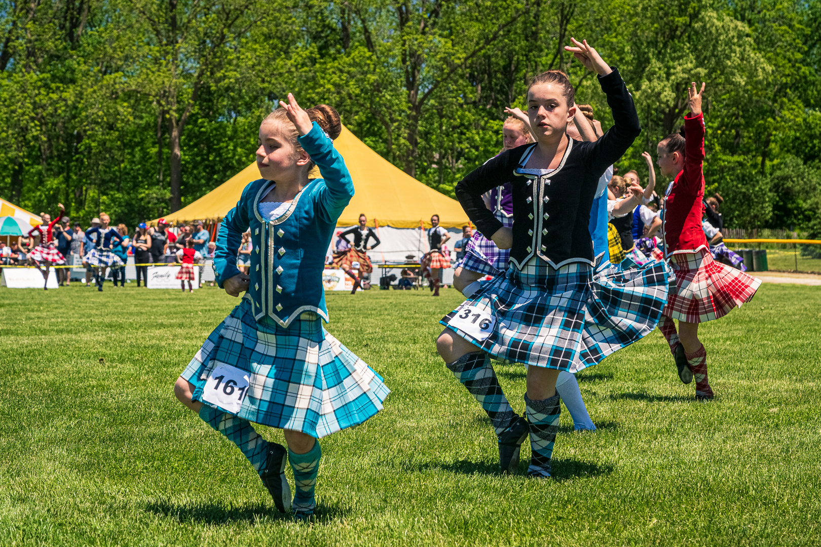 Georgetown Highland Games - Highland Dancers