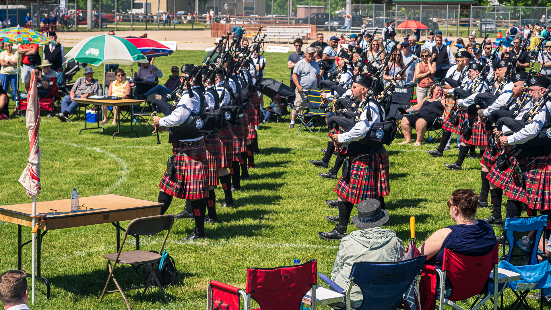 Georgetown Highland Games - Bands