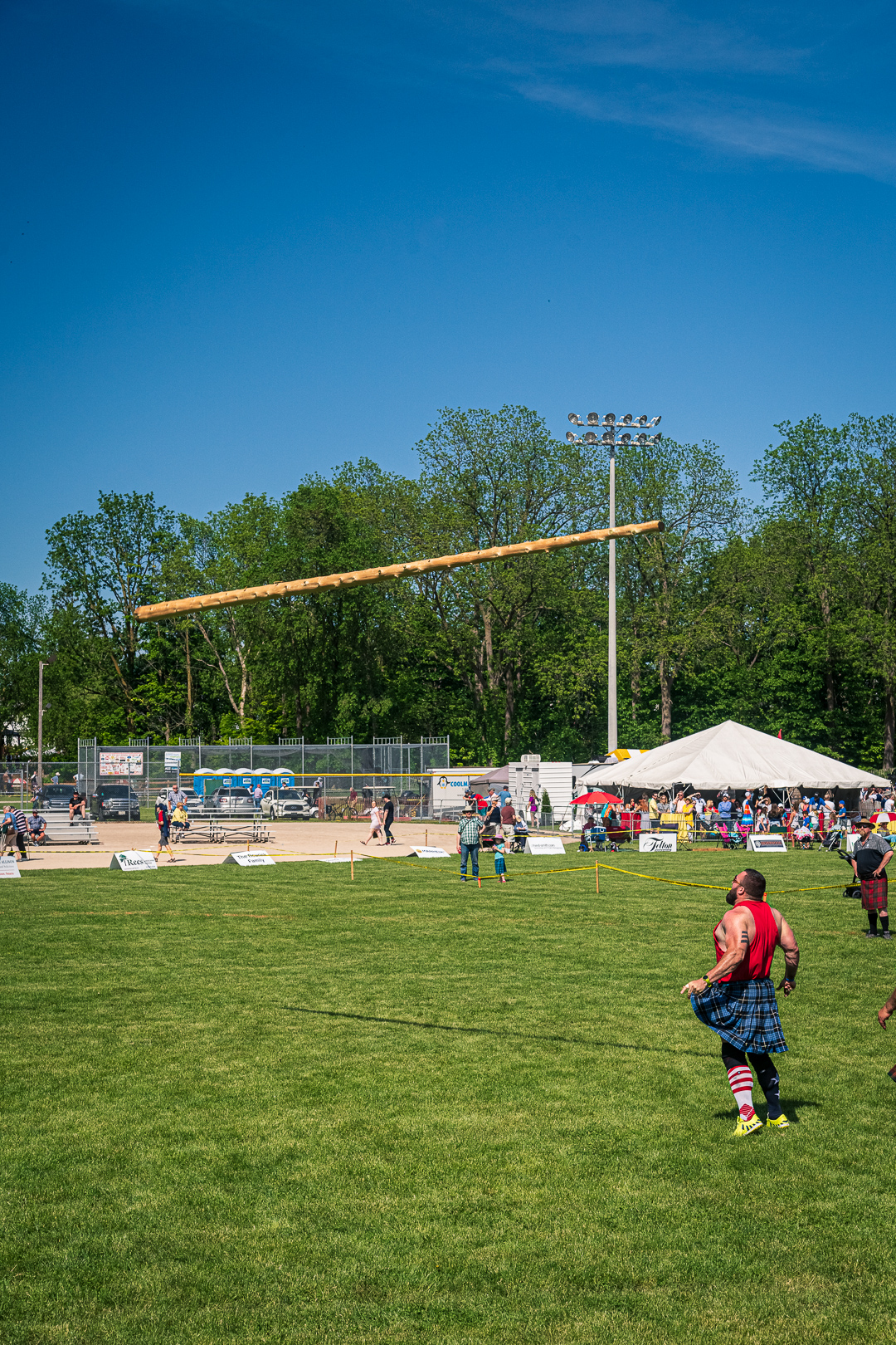 Georgetown Highland Games - Heavies Competitors