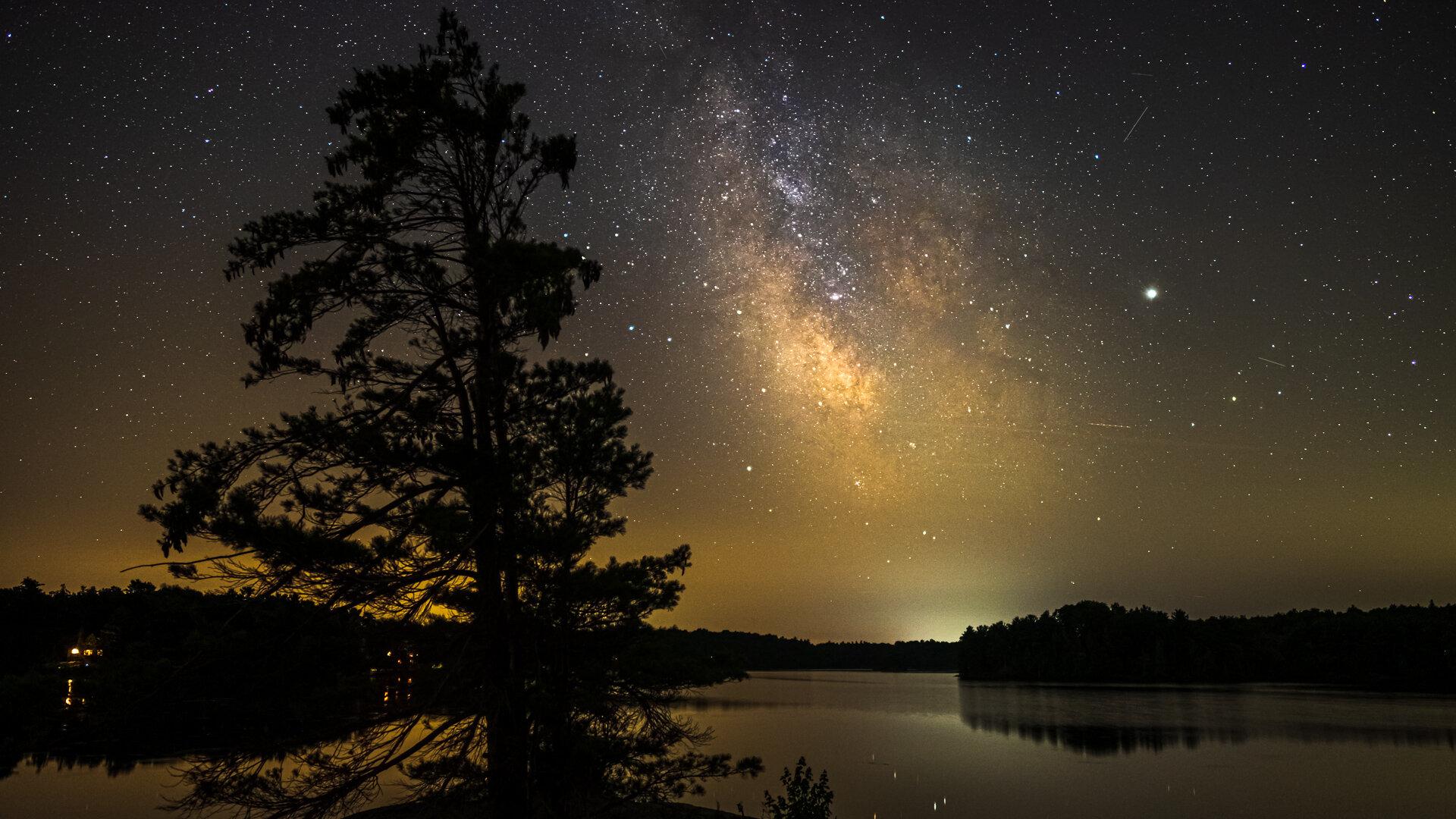 Snake Island Milky Way