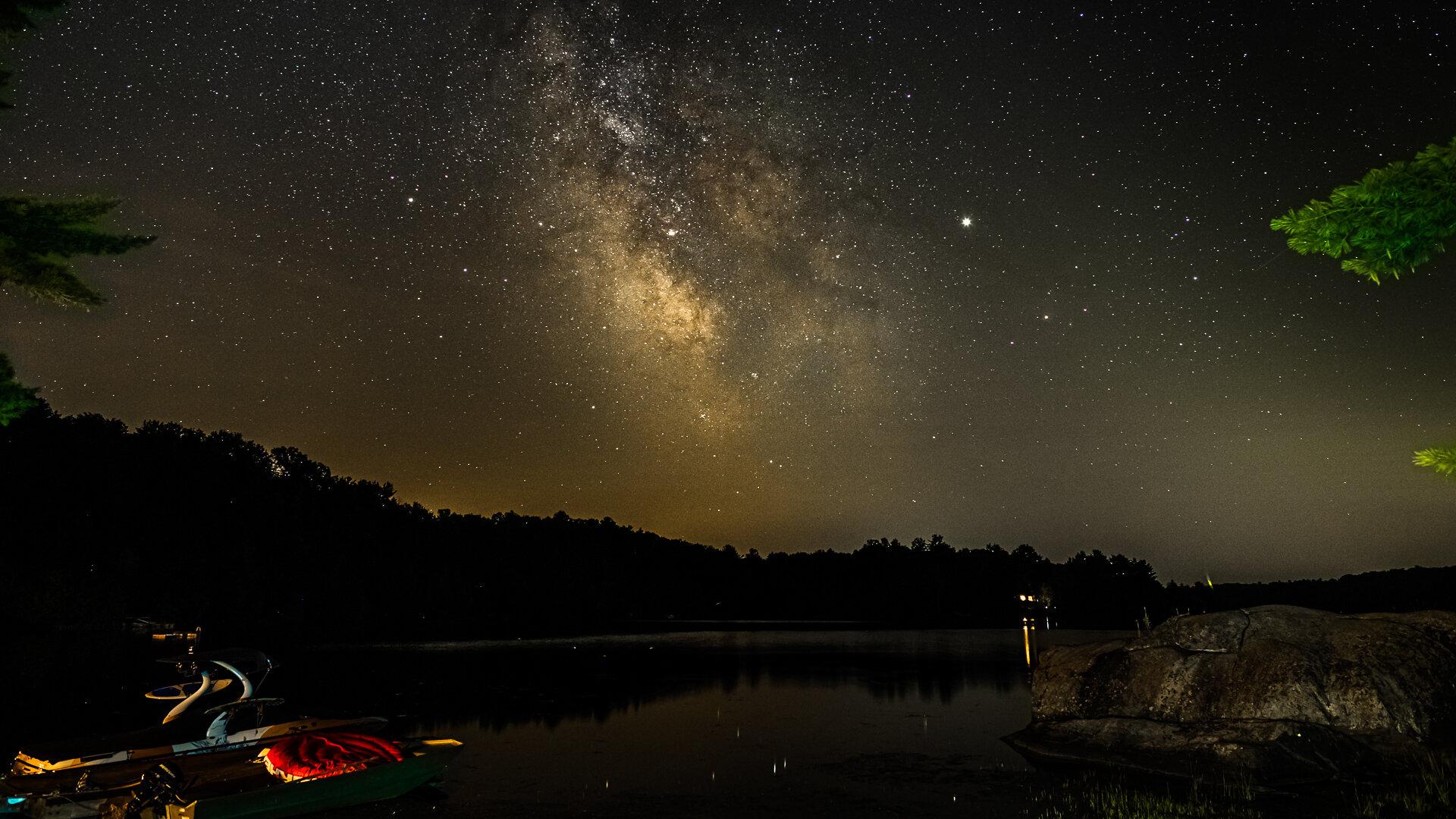 Big Rock Milky Way