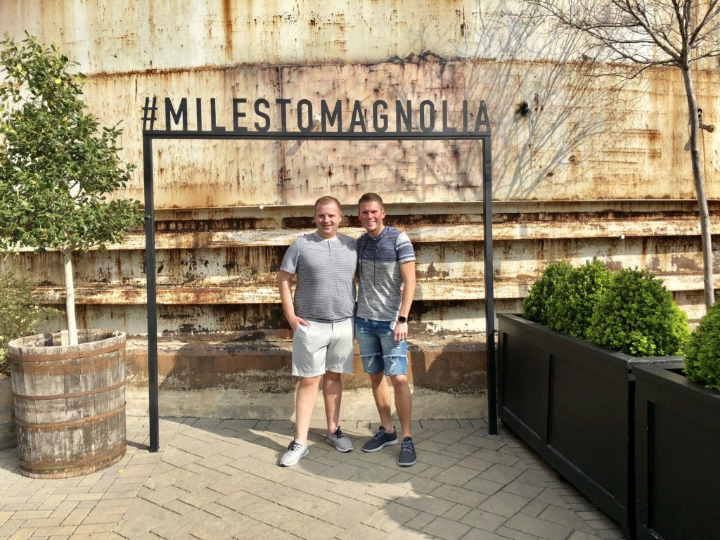 miles to magnolia